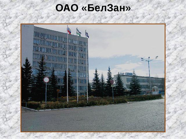 ОАО «БелЗан»