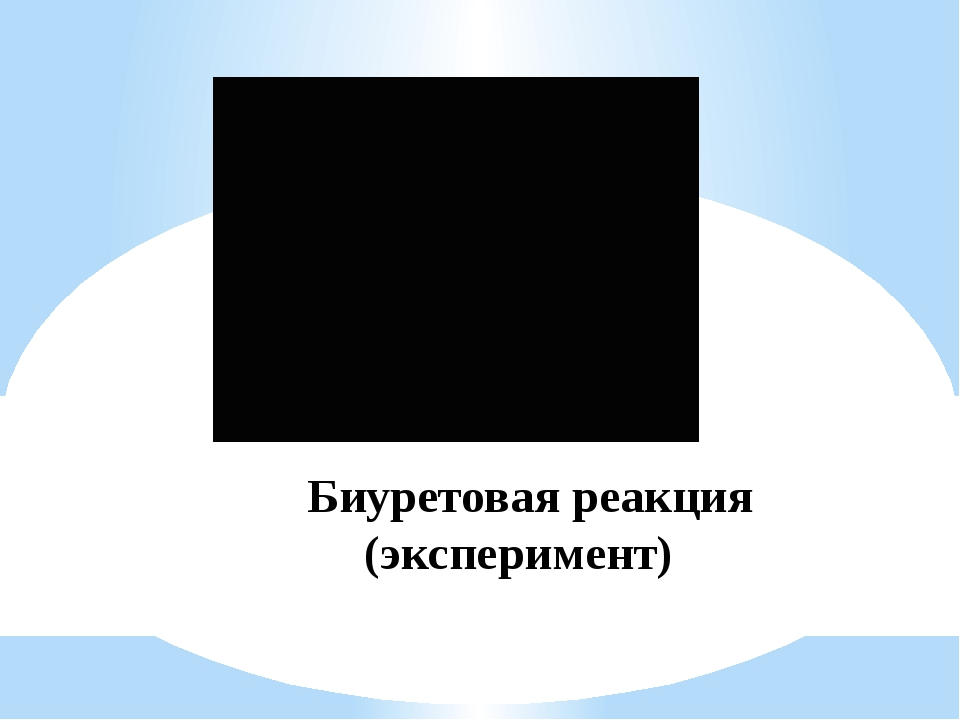 Биуретовая реакция (эксперимент)