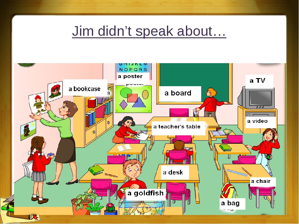 Jim didn't speak about…