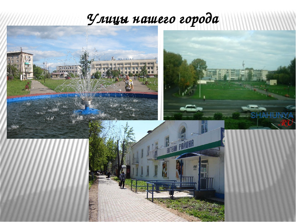 Улицы нашего города