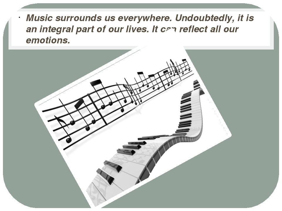 Music surrounds us everywhere. Undoubtedly, it is an integral part of our li...