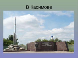 В Касимове