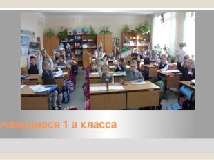Обучающиеся 1 а класса