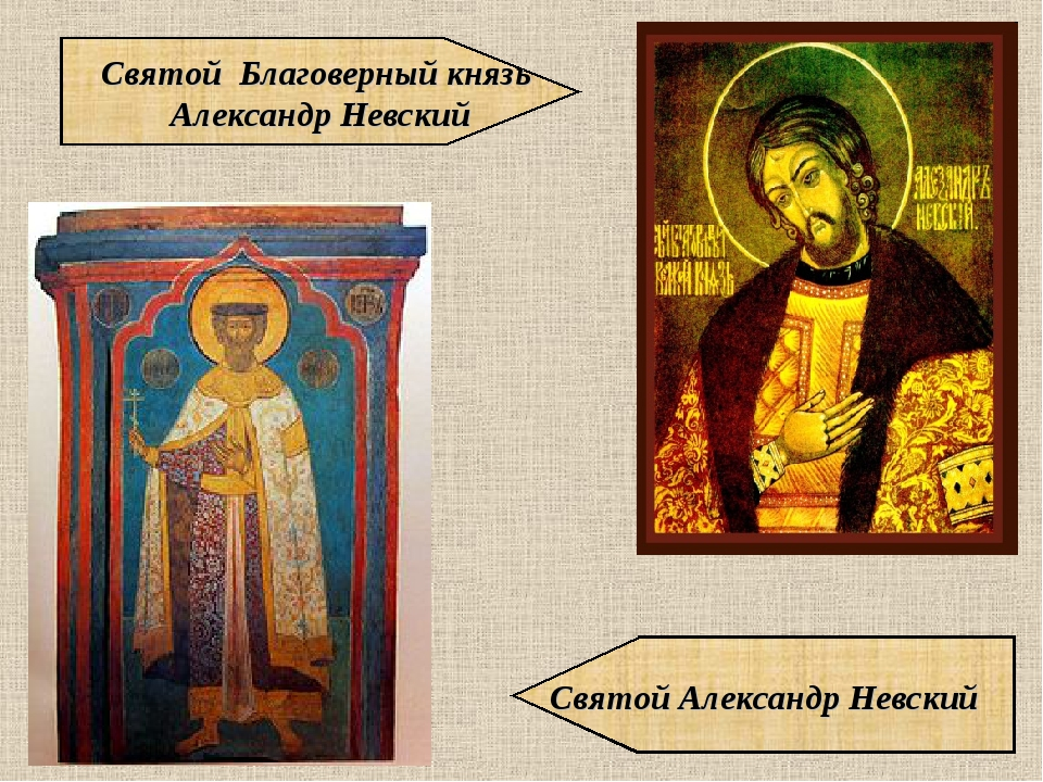 Святой Благоверный князь Александр Невский Святой Александр Невский