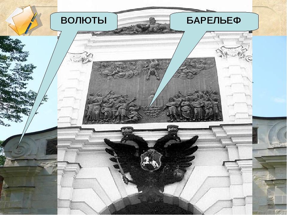 ВОЛЮТЫ БАРЕЛЬЕФ