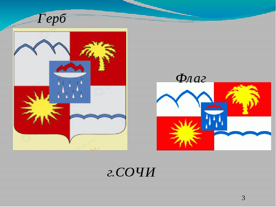 флаг и герб сочи картинки всё просто