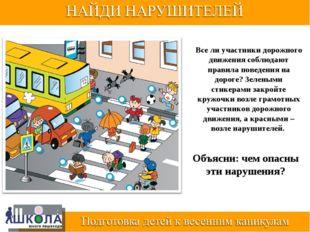 Все ли участники дорожного движения соблюдают правила поведения на дороге? Зе