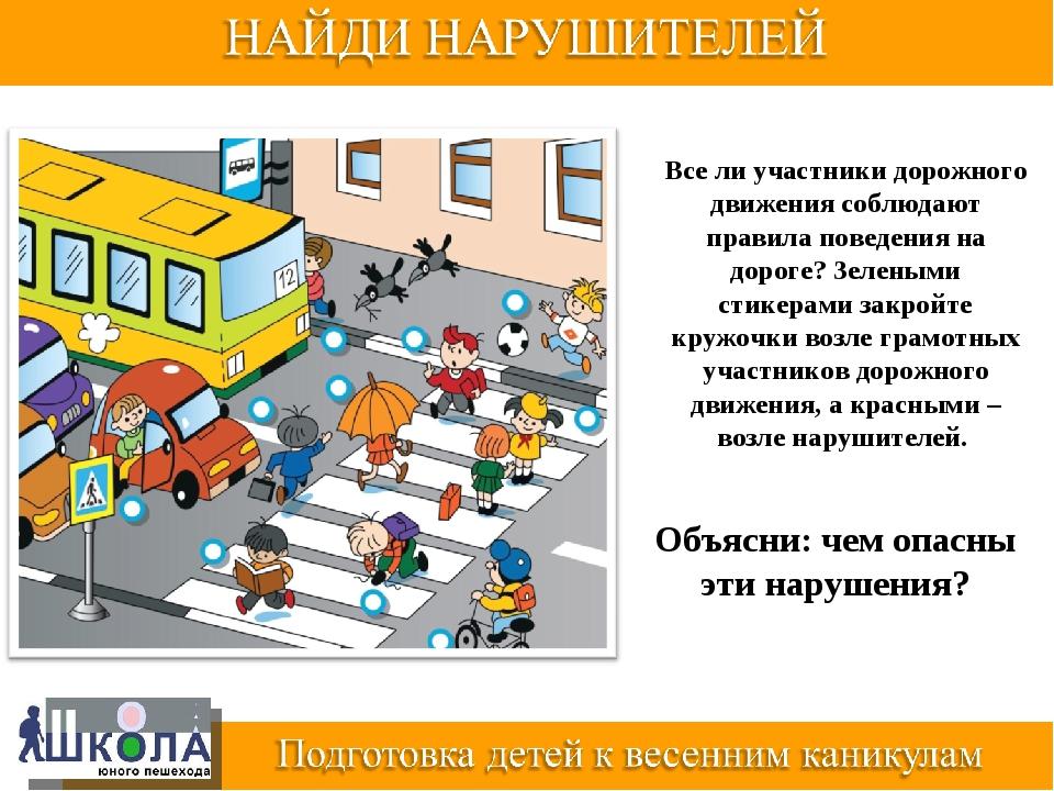Все ли участники дорожного движения соблюдают правила поведения на дороге? Зе...