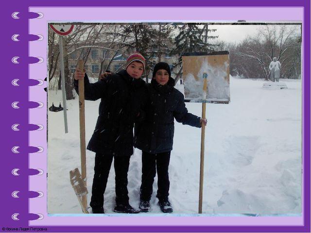 Забота о памятниках п. Боевого © Фокина Лидия Петровна