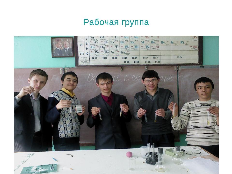Рабочая группа