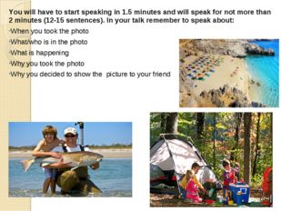 You will have to start speaking in 1.5 minutes and will speak for not more th