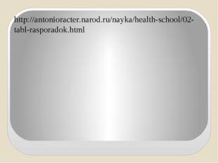 http://antonioracter.narod.ru/nayka/health-school/02-tabl-rasporadok.html