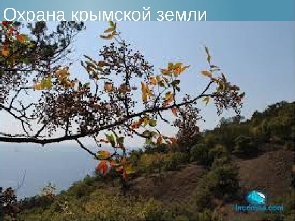 Охрана крымской земли