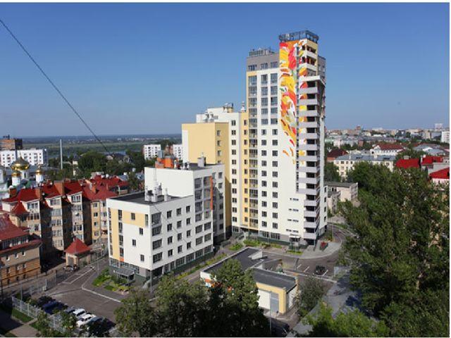 Городские многоэтажные дома