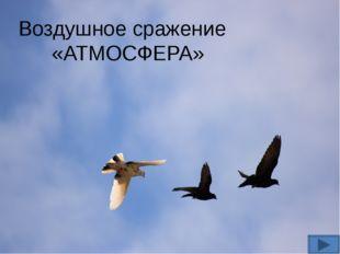 Воздушное сражение «АТМОСФЕРА»