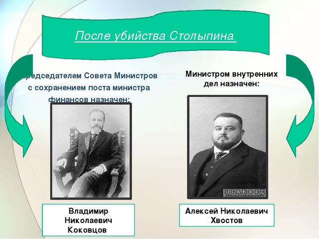 Председателем Совета Министров с сохранением поста министра финансов назначе...