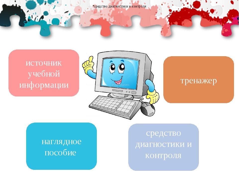 источник учебной информации наглядное пособие тренажер средство диагностики и...