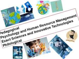 Pedagogical Psychology and Human Resource Management Exact Sciences and Innov