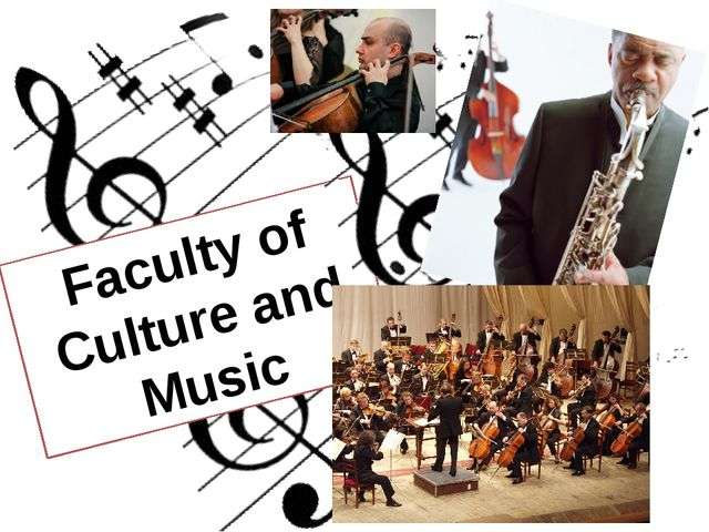 Faculty of Culture and Music