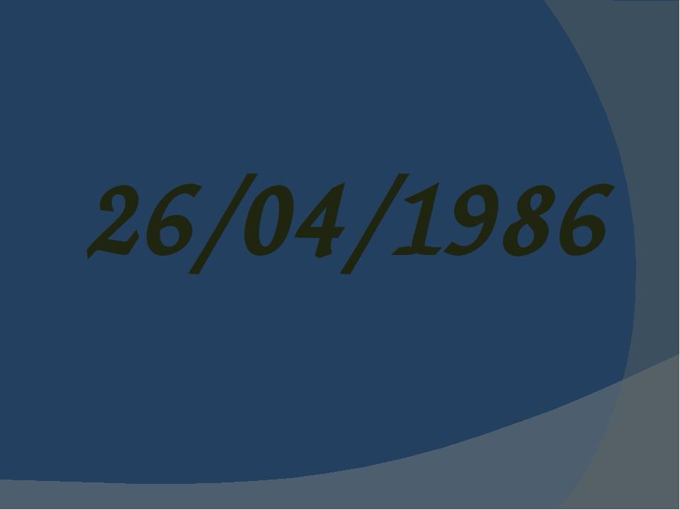 26/04/1986