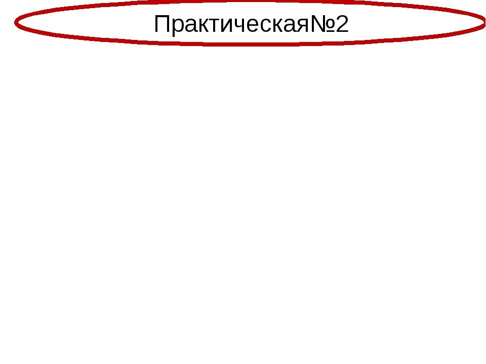 Практическая№2