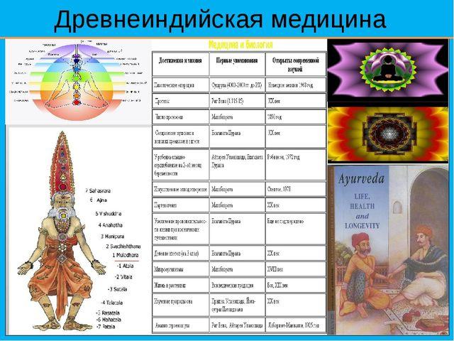 Древнеиндийская медицина