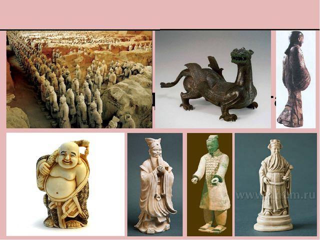 Скульптура Древнего Китая