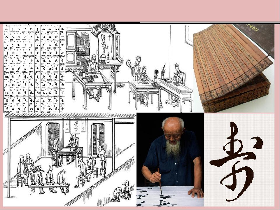 Письменность и наука в Древнем Китае