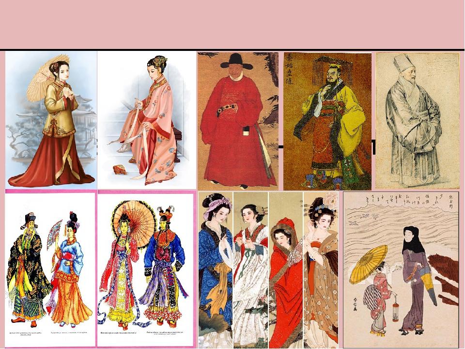 Одежда в Древнем Китае