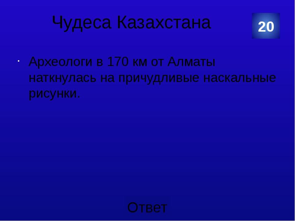 Чудеса Казахстана Наскальные изображения урочища Тамгалы. 20 Категория Ваш от...