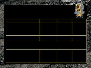 Создание опорного обоснования Требования к точности сетей полигонометрии, про
