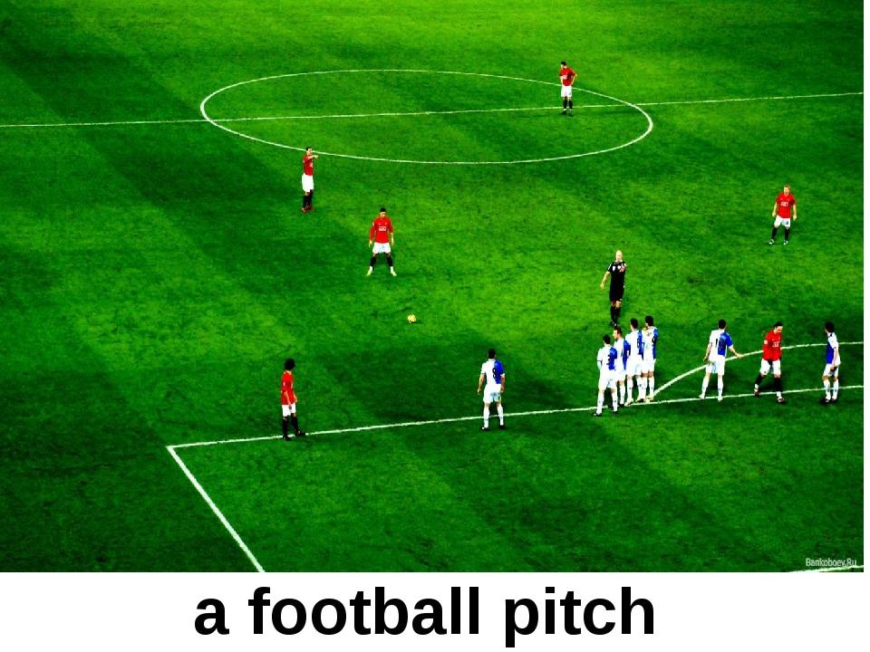 a football pitch
