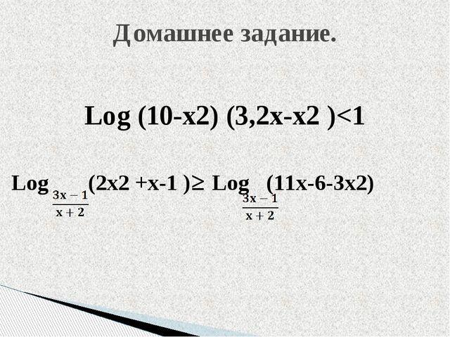 Log (10-x2) (3,2x-x2 )