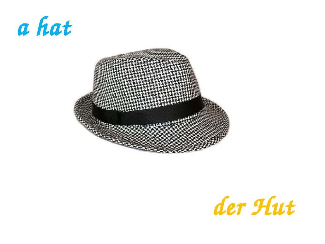a hat der Hut