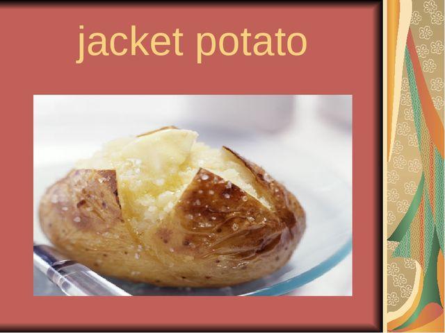jacket potato