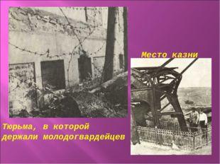 Место казни Тюрьма, в которой держали молодогвардейцев