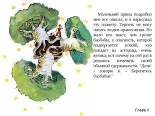 Маленький принц подробно мне все описал, и я нарисовал эту планету. Терпеть