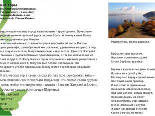 Жигулевские горы «Бог с ними, этими питерскими литераторами, ругаются они, лг