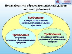 Требования к структуре основных образовательных программ Требования к резуль