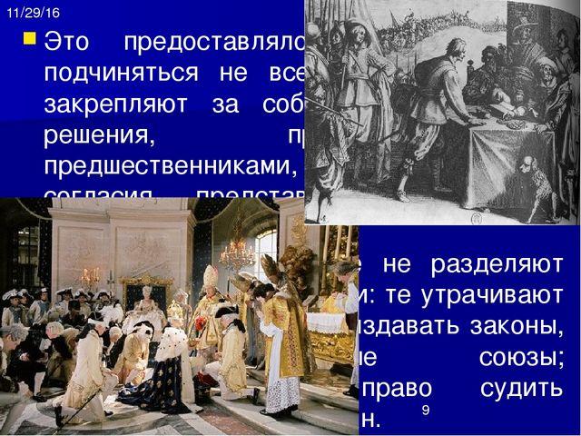 3. Общество сословий и привилегий Короли властвовали над подданными, которые,...