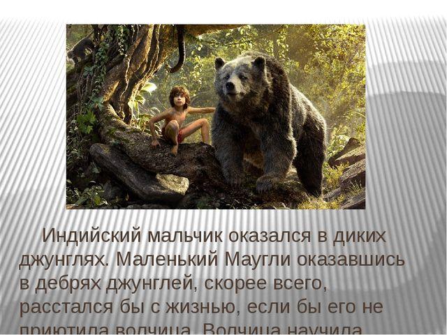 Индийский мальчик оказался в диких джунглях. Маленький Маугли оказавшись в д...