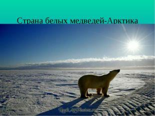 Страна белых медведей-Арктика