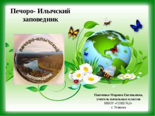 Печоро- Илычский заповедник Панченко Марина Евгеньевна, учитель начальных кла