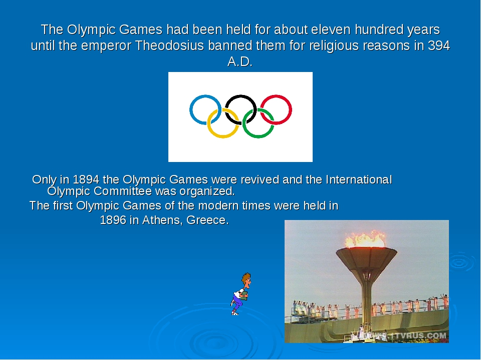 if the olympic games were held