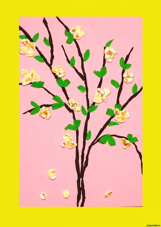 Весеннее дерево поделка