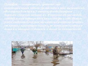Затор— закупоривание русла неподвижным ледяным покровом и нагромождением льд