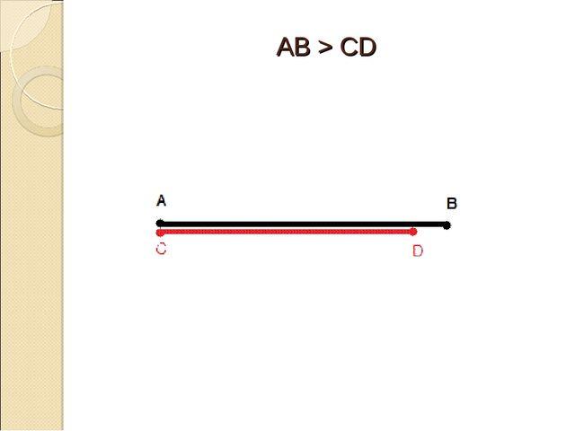 AB > CD