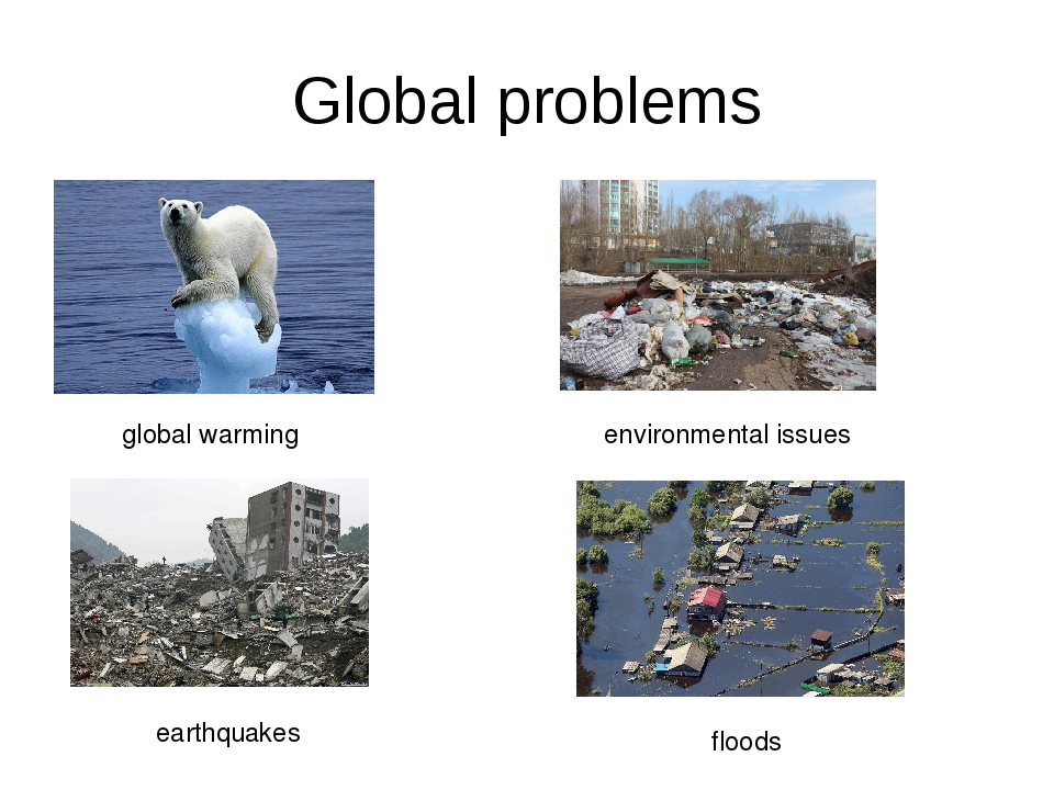 Global problems global warming environmental issues earthquakes floods