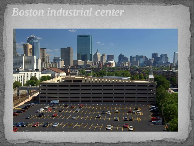 Boston industrial center