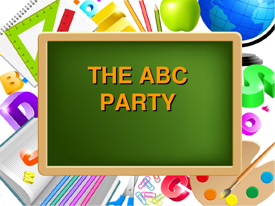 THE ABC PARTY ProPowerPoint.Ru